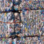 Residuos plásticos compactos